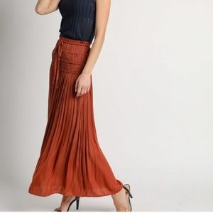 Anthropologie Kroes Knit Tiered Maxi Skirt